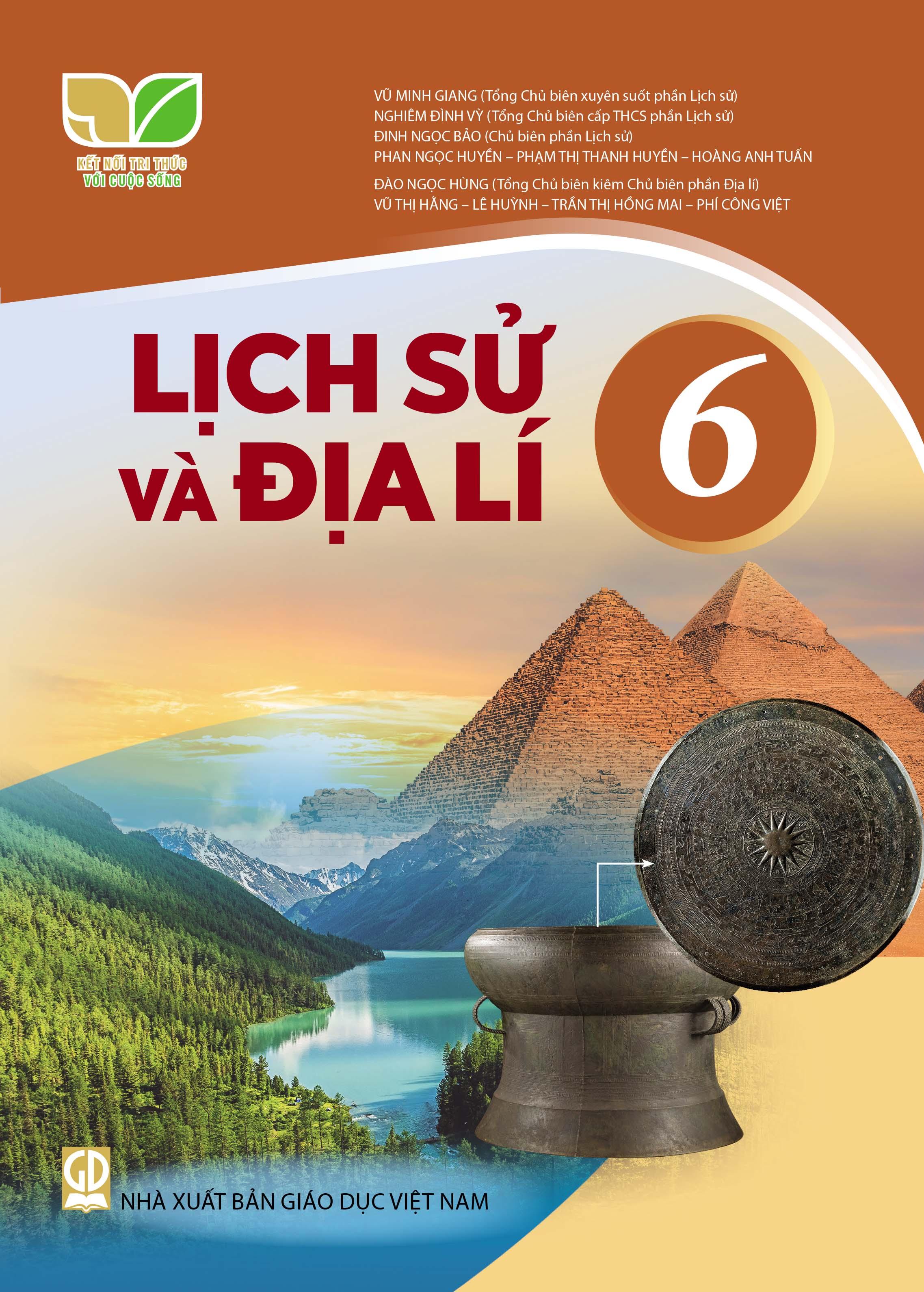 Giáo khoa lớp 6 bộ sách nhà xuất bản giáo dục - 290648